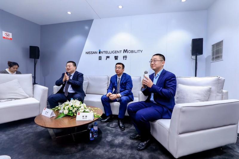 2019成都车展 群访东风日产市场销售总部总部长辛宇