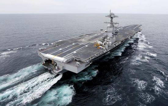 美专家:用航母遏制中国仍有效 反舰弹道导弹打不中