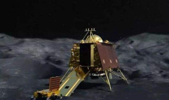 """印度""""月船2号""""着陆器在距离月球表面2.1公里处失联"""