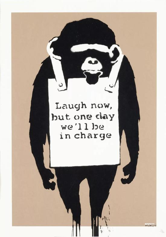 又是Banksy 十年前预言英国脱欧之作8600万元成交