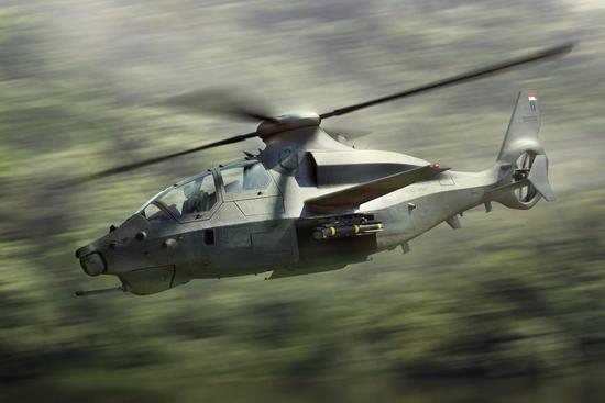 贝尔推出下一代旋翼机 竞争美未来攻击侦察机项目