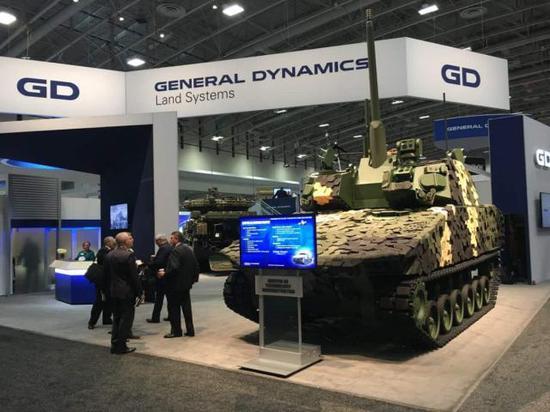 通用动力竞标新装甲车 欲取代美军现役布拉德利战车