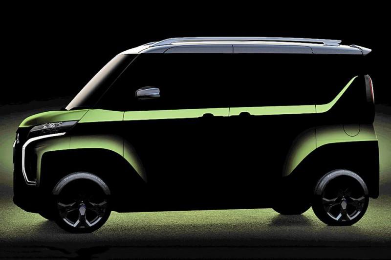 三菱全新K-Car概念车预告图发布 将东京车展亮相