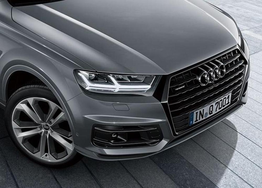 奥迪Q7特别版官图发布 配备专属灰色涂装