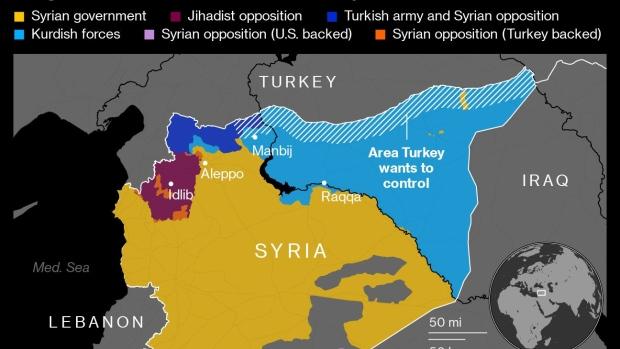 土耳其增兵叙利亚幼河东岸 库尔德人警告或全面开战
