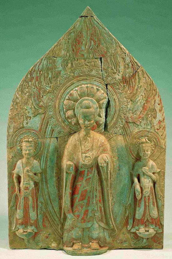 对青州七级寺出土一件背屏式造像时代的考证