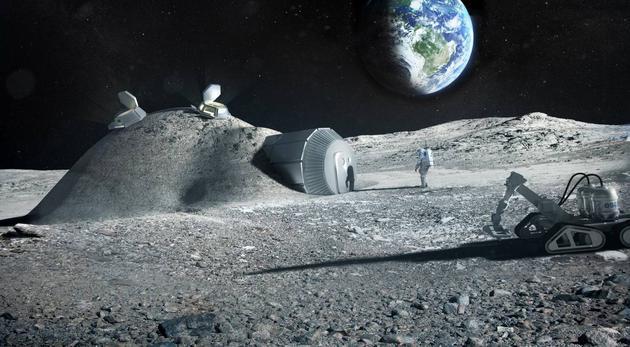 未来或可利用宇航员尿液修建月球基地